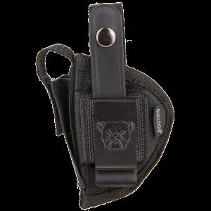 """Bulldog FSN12 Extreme Sz 12 Revolver Fits 3-4"""" Holster Black Nylon - FSN12"""