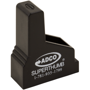 ADCO ST6 Super Stack Speedloader Thumb 380ACP Black Finish Poly