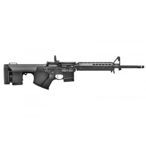 "Springfield Saint 5.56, Semi-automatic Rifle, 223 Rem/556nato, 16"" Barrel, 1:8 Twist, Mid-length Gas System, Type Iii Hard Coat Anodized Finish, Bravo Company Mod 3 Grip, Option Zero Stock, Bravo Company Keymod Handguard, Bravo Company Trigger Guard, A2 F"