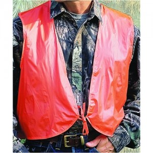 Allen Company Safety Vest in Acrylic Orange - Youth