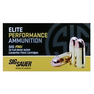 Sig Sauer .45 ACP Full Metal Jacket, 230 Grain (50 Rounds) - E45BA3-50