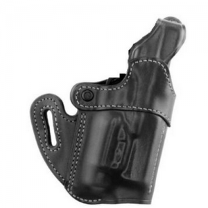 Aker Leather 167 Nightguard Right-Hand Belt Holster for Glock 17 in Black (W/ Surefire X200) - H167BPRU-G17 X2