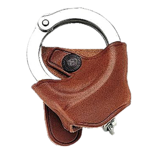 Galco International Right Hand Cuff Case in Black Smooth Leather - SC72B