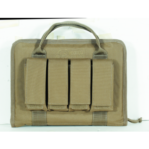 Pistol Case with Mag Pouches (Coyote)