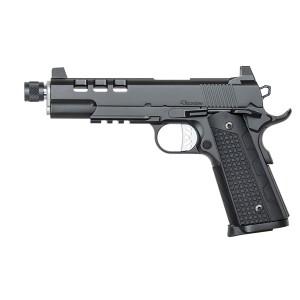 "Dan Wesson Discretion 9mm 10+1 5.75"" 1911 in Black - 01886"
