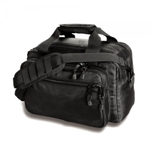 Uncle Mike's Side-Armor Deluxe Range Bag Range Bag in Black - 53411