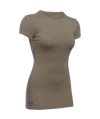 Under Armour Heatgear Women's Compression Shirt in Federal Tan - Medium