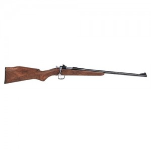 "Crickett Single Shot .22 Long Rifle 16"" Bolt Action Rifle in Blued - 1"