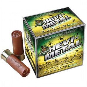 """Hevishot Hevi-Metal .12 Gauge (3"""") 2 Shot Steel (25-Rounds) - 31222"""