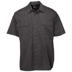 Taclite TDU S/S Shirt Color: Black Length: Tall Size: 2X-Large