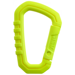 Large Polymer Carabiner Color: Neon Yellow
