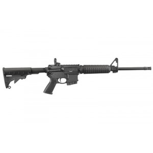 "Ruger Ar-556, Semi-automatic, 223 Remington, 556nato, 16.1"" Barrel, Type Iii Hard Coat Anodized Finish, 6 Position Collapsible Stock, 1-10rd Magazine, Adjustable Rear Sight 08511"