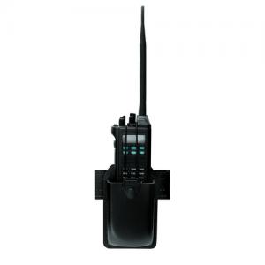 Radio holder w/ swivel for Motorola XTS 5000, plain black