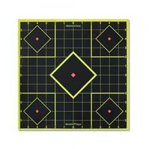 "Birchwood Casey Shoot-n-c Target, Sight-in, 8"", 15 Targets 34112-15"