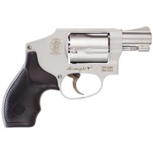 """Smith & Wesson 642 .38 Special 5-Shot 1.87"""" Revolver in Stainless (Airweight) - 103810"""