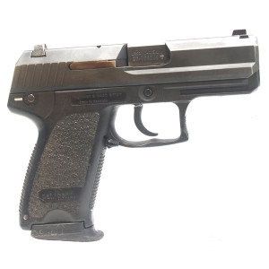 "Pre-Owned Heckler & Koch USP40C V3 .40 S&W Compact Semi-Automatic Pistol 3.58"" Barrel 1 - 12 Round Magazine Adjustable White 3-Dot Sights Accessory Rail"