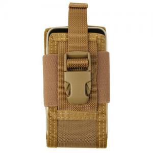 5' Clip-On Phone Holster Color: Khaki