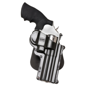 """Fobus USA Roto Paddle Right-Hand Paddle Holster for Smith & Wesson L-Frame, K-Frame in Black (4"""") - SW4RP"""