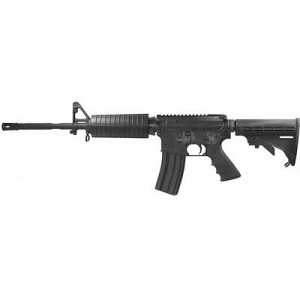 "DS Arms AR-15 .223 Remington/5.56 NATO 30-Round 16"" Semi-Automatic Rifle in Black - DSZM4CV1R"