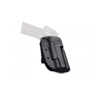 Blade Tech Industries Outside The Waistband Holster, Fits Glock 17/22/31, Left Hand, Black, With Adjustable Sting Ray Loop - HOLX000826050789