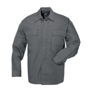5.11 Tactical Taclite TDU Men's Long Sleeve Shirt in Storm - Large