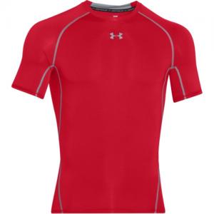 Under Armour HeatGear Men's Undershirt in Red - Medium