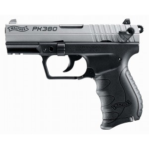 "Walther PK380 .380 ACP 8+1 3.66"" Pistol in Two Tone Tenifer Black - 5050309"