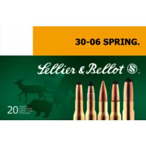 Magtech Ammunition Hunting Soft Point Cut-Through Edge .30-06 Springfield SPCE (Soft Point Cut-through Edge), 180 Grain (20 Rounds) - SB3006E