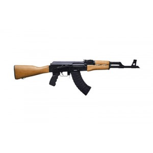 "Century Arms RAS47 7.62X39 10-Round 16.5"" Semi-Automatic Rifle in Black - RI2362CA-N"