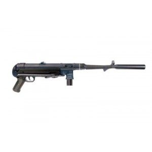 "American Tactical Imports MP40 .22 Long Rifle 10-Round 16"" Semi-Automatic Rifle in Black - GERGMP4010"