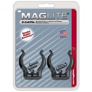 MagLite D-Cell Flashlight Mounting Bracket ASXD026