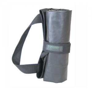 Rapid Flex Medical Litter  Rapid Flex Medical Litter, Black, adjustable waist strap, four side handles, reinforced drag straps top and bottom, Small and lightweight