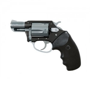 """Charter Arms Undercover Lite .38 Special 5-Shot 2"""" Revolver in Black/Stainless Steel - 53870"""