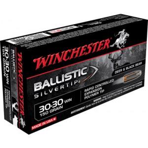 Winchester Supreme .30-30 Winchester Ballistic Silvertip, 150 Grain (20 Rounds) - SBST3030