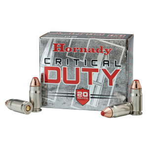 Hornady Critical Duty 9mm FlexLock, 135 Grain (25 Rounds) - 90226