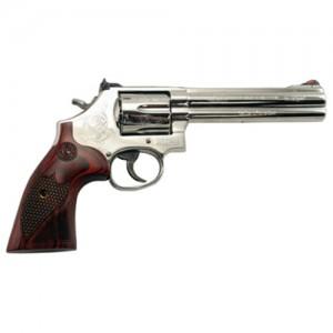 "Smith & Wesson 686 Machine Engraved .357 Remington Magnum 6-Shot 6"" Revolver in High Bright - 151013"
