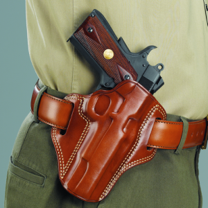COMBAT MASTER BELT HOLSTER Gun FIt: BERETTA - 92D Color: TAN Hand: Left Handed - CM203