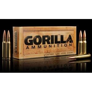 Gorilla Ammunition Company LLC Gorilla Ammunition .308 Winchester Boat tail Hollow Point, 175 Grain (20 Rounds) - GA308175SMK