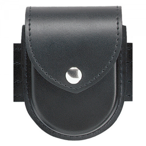 Top Flap Double Handcuff Pouch Model 290 Finish: Plain Snaps: Brass Snaps