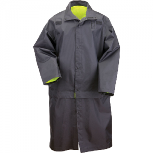 5.11 Tactical Hi-Vis Men's Rain Coat in Black - X-Large