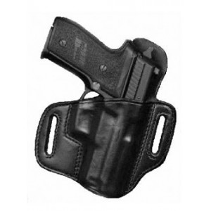 "Don Hume H721ot Holster, Fits Xd With 4"" Barrel, Right Hand, Black Leather J336326r - J336326R"