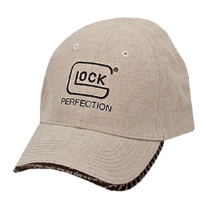 Glock 2nd Amendment Perfection Cap in Tan - One Size Fits Most