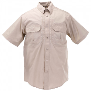 5.11 Tactical Pro Men's Uniform Shirt in TDU Khaki - Medium