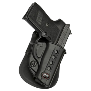 """Fobus USA Roto Evolution Right-Hand Paddle Holster for Smith & Wesson M&P in Black (5"""") - SWMPRP"""