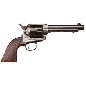 "Taylors & Co The Smoke Wagon .45 Long Colt 6-Shot 4.75"" Revolver in Blued (Deluxe) - 4109DE"