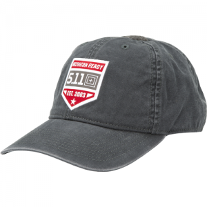 5.11 Tactical Mission Ready Cap in Charcoal - One Size Fits Most