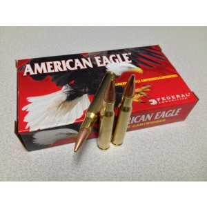 Federal Cartridge American Eagle Target .30-06 Springfield Boat Tail Metal Case, 150 Grain (20 Rounds) - AE3006N