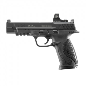 """Smith & Wesson M&P 9mm 17+1 5"""" Pistol in Black - 178058"""