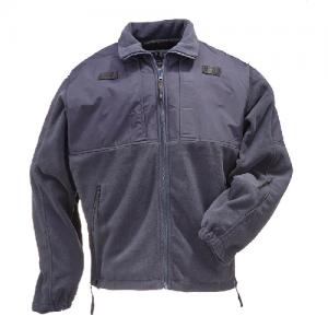 5.11 Tactical Tactical Fleece Men's Full Zip Jacket in Dark Navy - 3X-Large