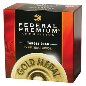 "Federal Cartridge Gold Medal Extra Lite Plastic Target .12 Gauge (2.75"") 8 Shot Lead (250-Rounds) - T1148"